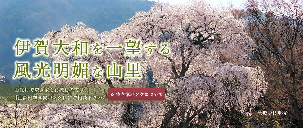 伊賀大和を一望する 風光明媚な山里